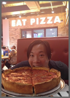 Giordano's pizza in Chicago - Brentwood Travel