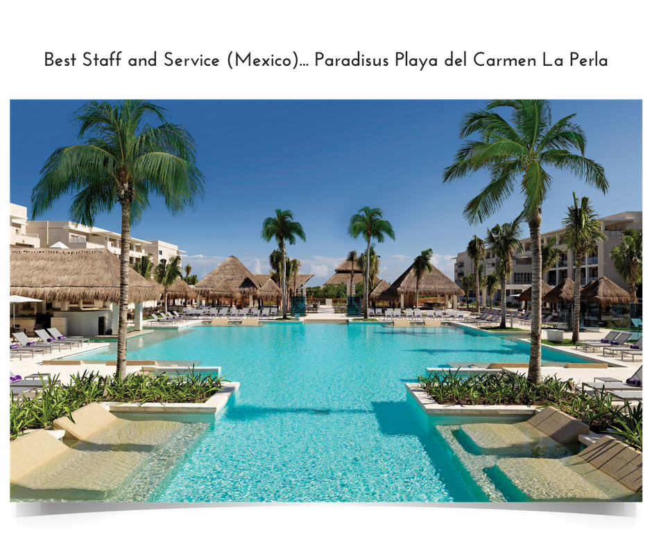 Apple Vacations' 2016 Crystal Apple Award Winner - Best Staff and Service in Mexico