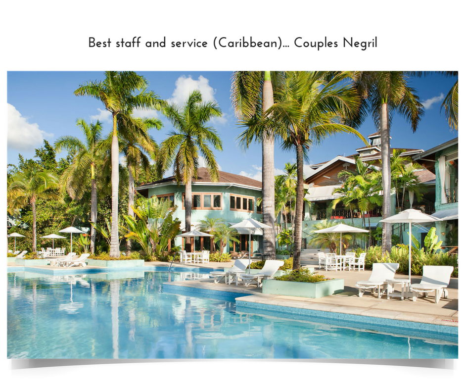 Apple Vacations' 2016 Crystal Apple Award Winner - Best Staff and Service in the Caribbean