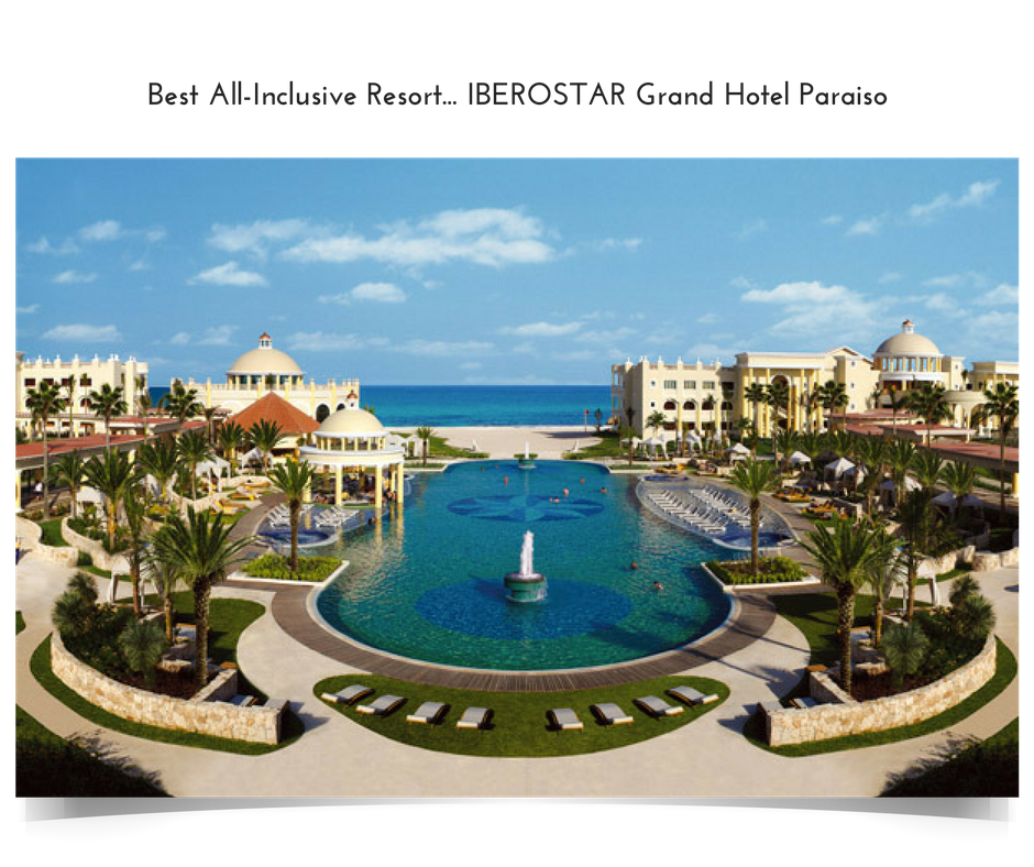 Apple Vacations' 2016 Crystal Apple Award Winner - Best All-Inclusive Resort