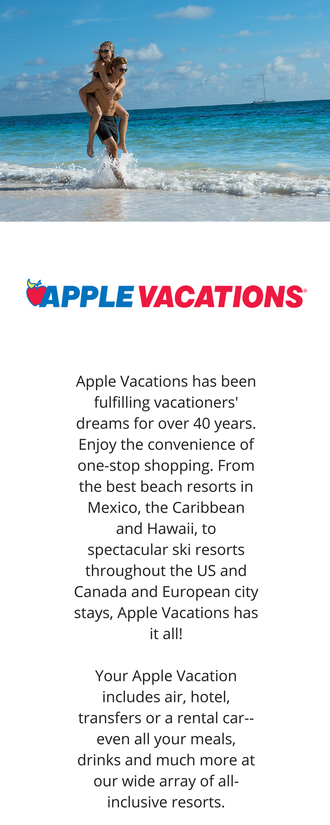 About Apple Vacations