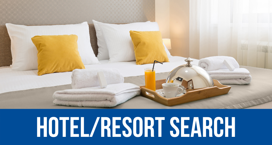 Hotel/Resort Search