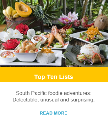 Top Ten Lists - South Pacific