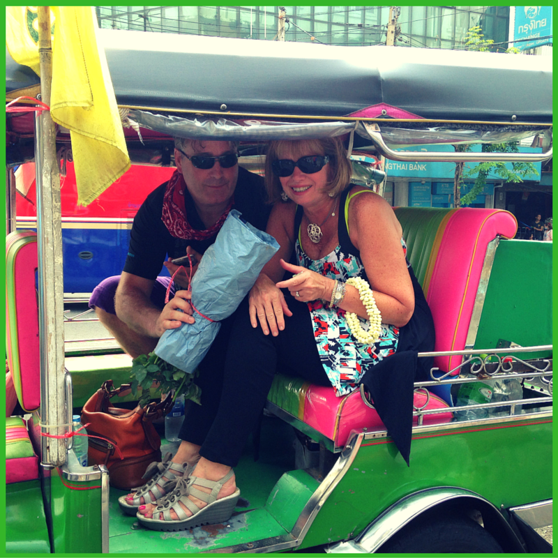 Riding a Tuk-Tuk in Bangkok - Brentwood Travel
