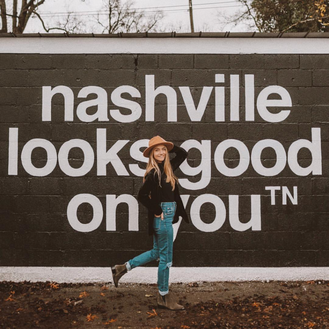 Nashville looks good on you